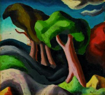 BENTON OIL PAINTING