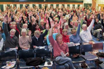 west tisbury town meeting