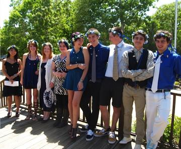 Charter School graduation