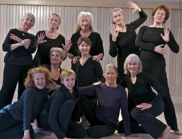 dancers, carol loud, genevieve abbott, gail tipton, kathy joyce costanza, wendy brophy, suzanna