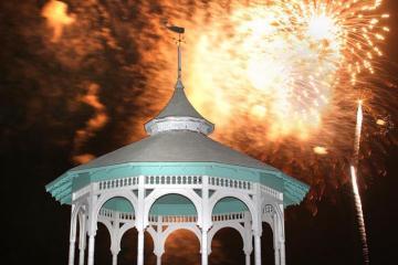 fireworks bandstand