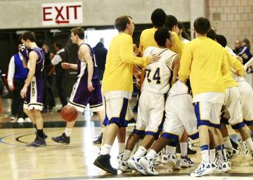 Wareham Marthas Vineyard boys basketball