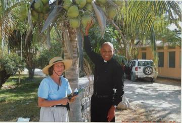 Margaret Penicaud Guy Poulard Archbishop Haiti