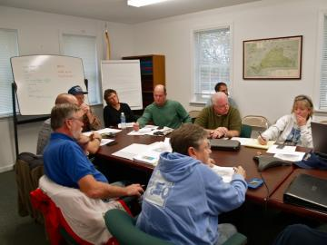 Hurricane Sandy, emergency management meeting martha's vineyard