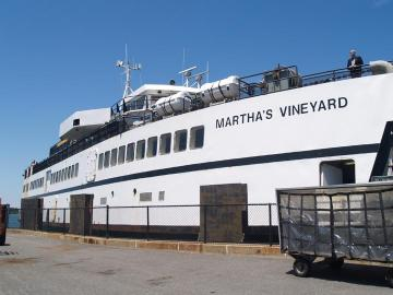 Marthas Vineyard ferry