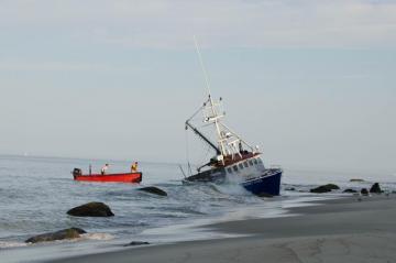 sherry ann boat aground