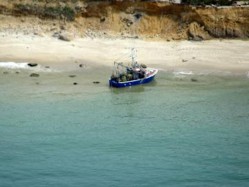 boat aground
