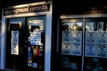 aboveground records storefront