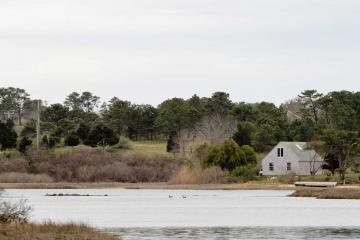Chilmark Pond house