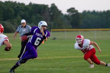 quarterback run by Alec Tattersall