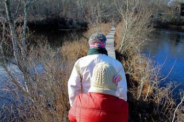 Susan Silk Betty Jaslow Blackwater Pond