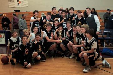 oak bluffs middle school blazers basketball team