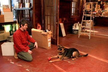 Mike Barnes dog Baris