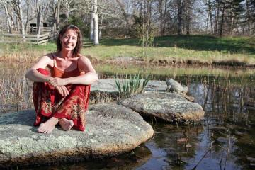 Nicole Galland stone pond