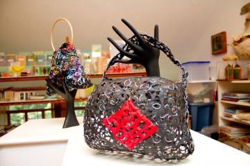 homemade paper purses
