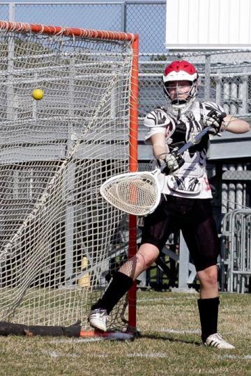 lacrosse April Hargy
