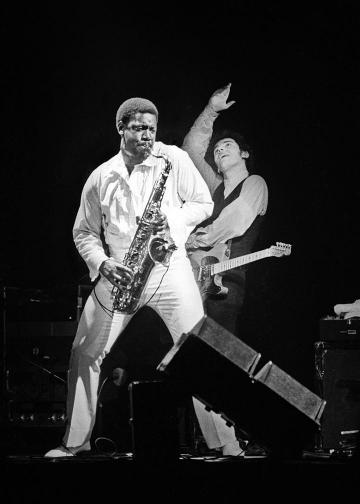 Clarence Clemons, Bruce Springsteen, James Shive