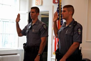 Officers Ryan Natichioni Jeremie Rogers