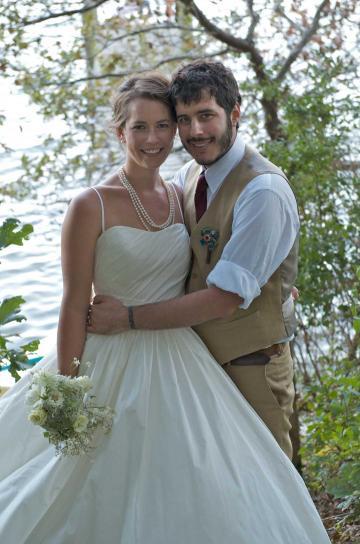 Corinna McCurdy Joshua Liebowitz bride groom