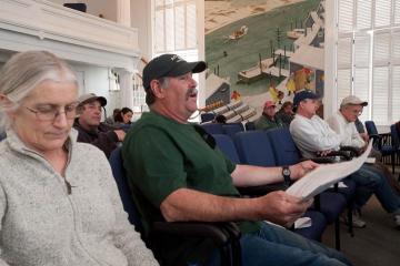 Bill Alwardt fisherman meeting