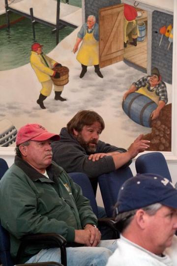 Buddy Vanderhoop Jim Wilson fisherman