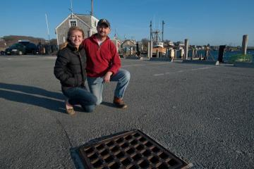 Isabel Smith Robert Smith catch basin Menemsha