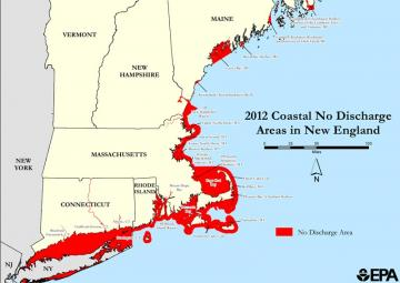 Map Coastal No Discharge Areas