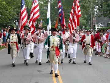 Forth of July Parade o Martha's Vineyard