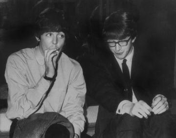 Paul McCartney Peter Asher