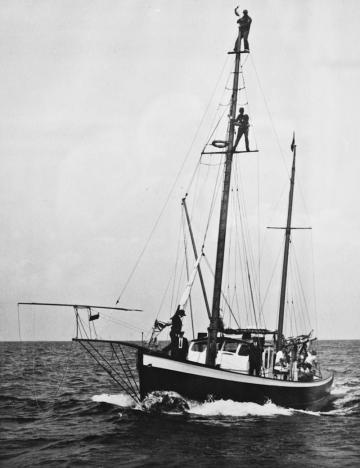 swordfishing boat