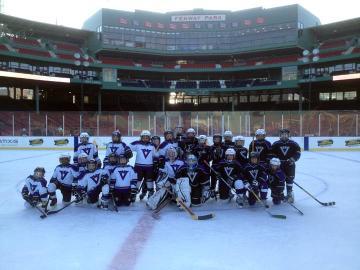 youth hockey ice rink