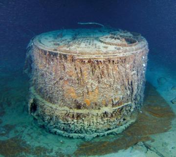 titanic boiler