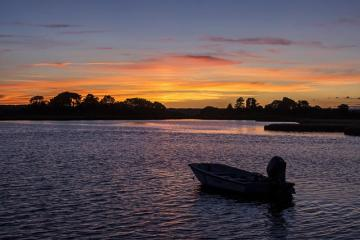 Sunset at Sengekonacket