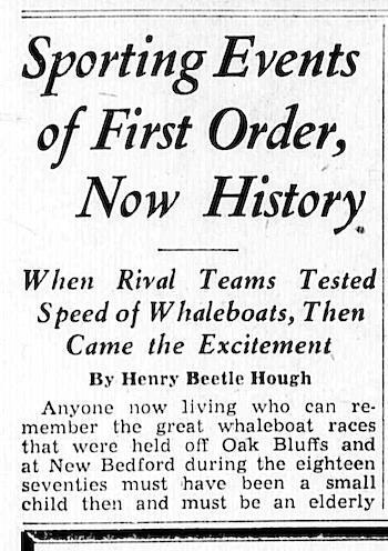 May 5, 1961 Vineyard Gazette headline