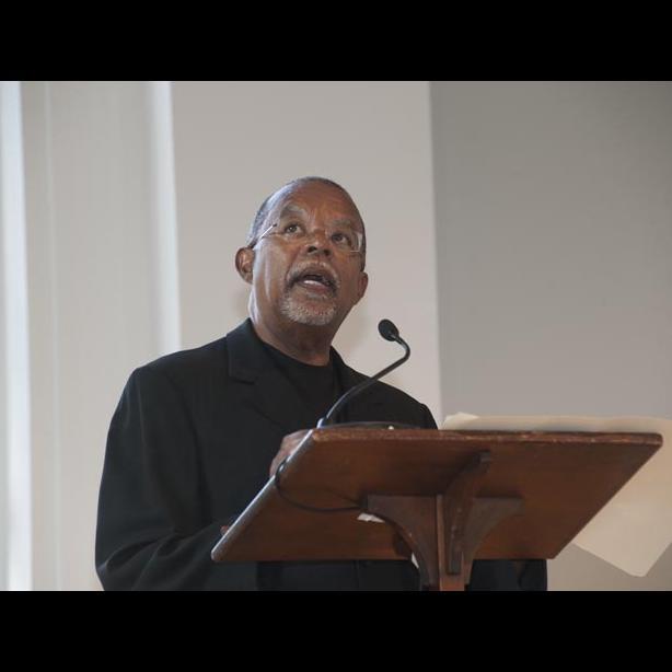 Henry Lewis Gates podium microphone