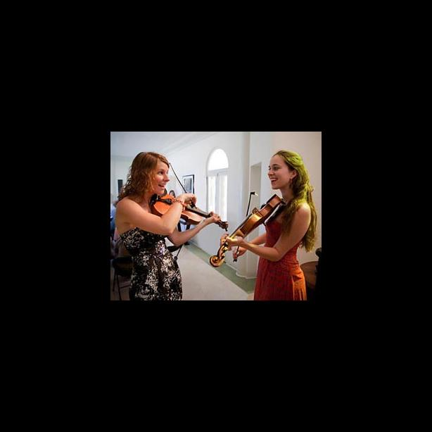 Fiddling, Brittany Haas, Lauren Rioux