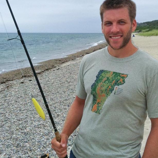 Nathan Jandl beach fishing pole
