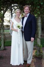 Leigh Anderson Michael Morgan bride groom