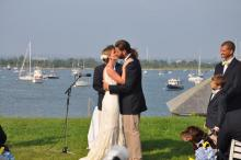 Carolyn Eno Jacob Hartman wedding bride