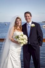 Blair arthur sheehan bride groom gallagher