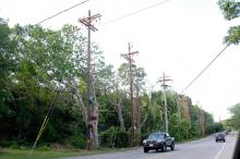 Nstar phone poles