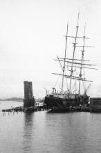 Morgan at wharf