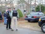 Skipper Manter Dan Rossi police at crime scene
