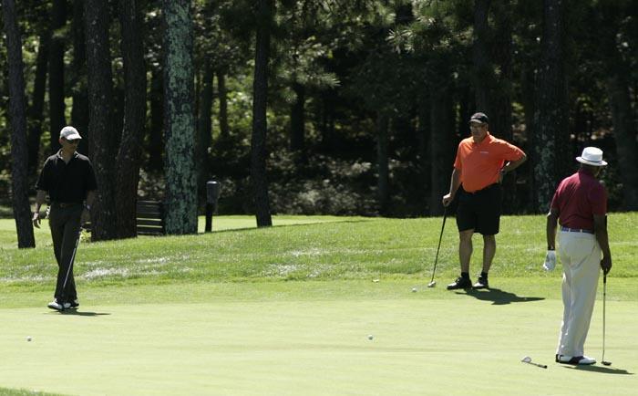 Golf Course Barack Obama POTUS