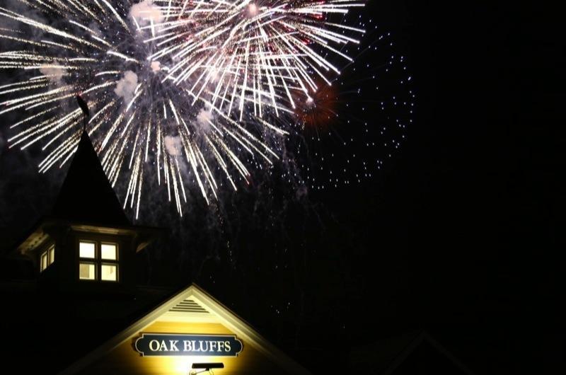 Oak Island Pier Fireworks