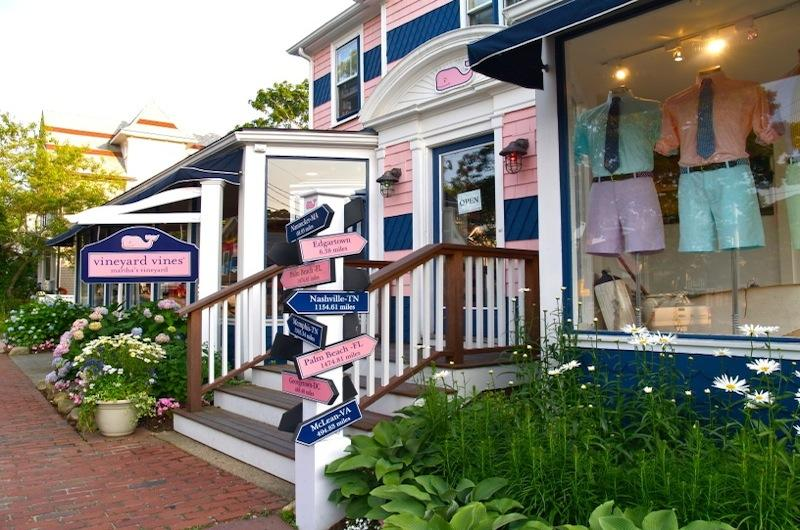 Edgartown Clothing Stores