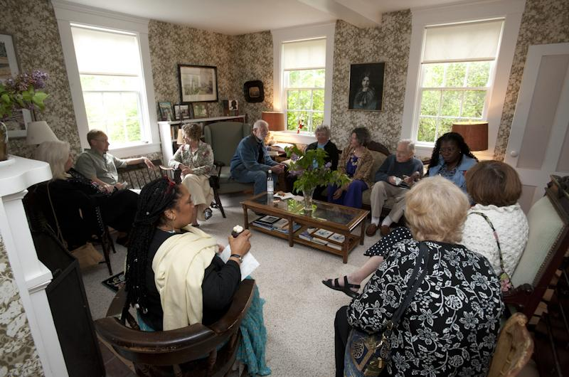 Gathering at the Cleaveland House