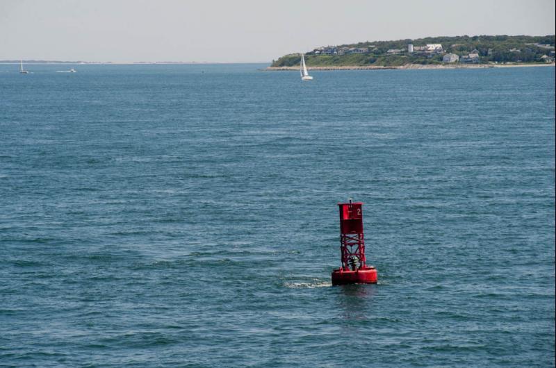 Buoy off West Chop