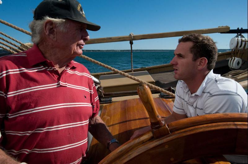 Captains confer