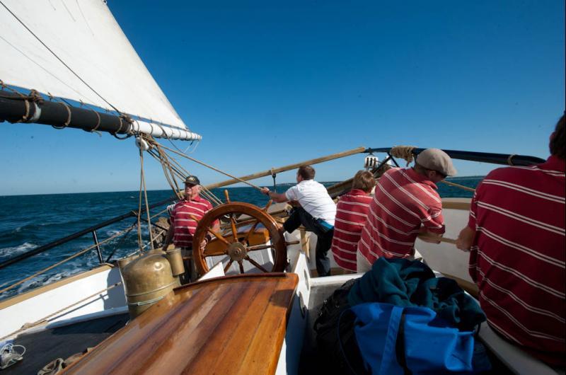 Tightening Sail
